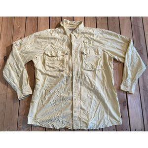 Cabela's Guidewear Long sleeve Button Up shirt
